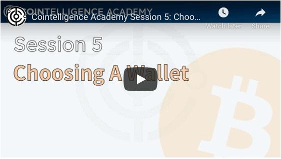 Video: Choosing a Bitcoin Wallet