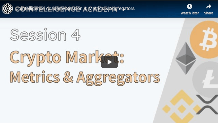 Crypto Market Metrics & Aggregators